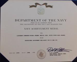 NAM Certificate